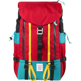 Topo Designs Mountain Mochila, rojo